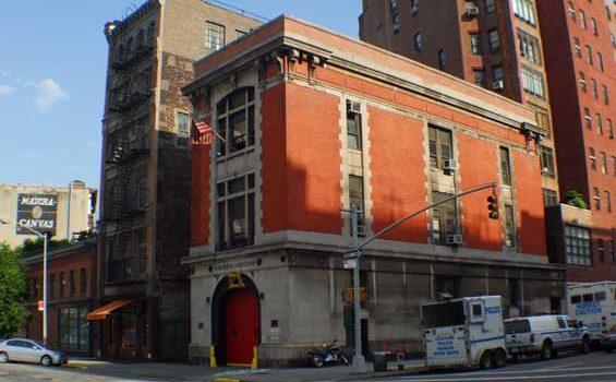 Hook & Ladder No. 8's firehouse